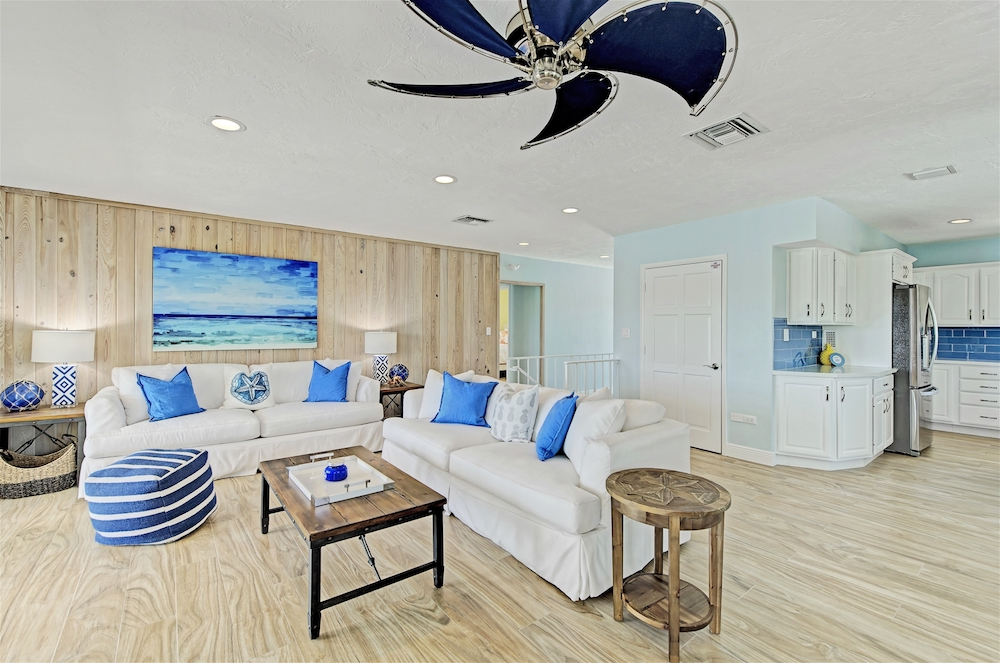 FL Keys Vacation Rental Living Room