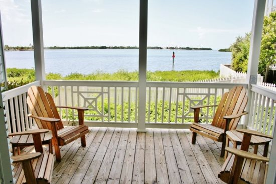 Waterviews from Your Private Porch
