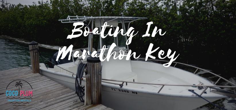 Boating In Marathon Key