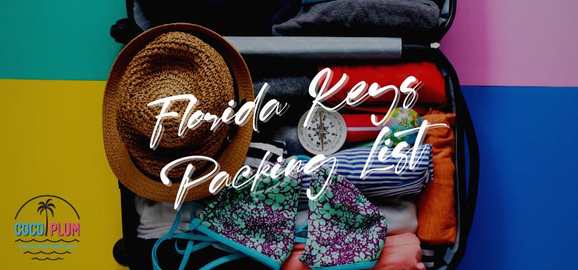 Florida Keys Packing List