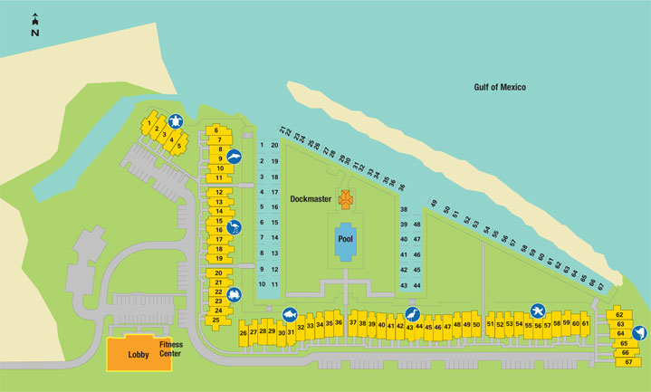 Floor Plan for Seaside Escape at Indigo Reef