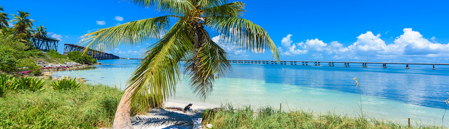 Sunny Weather in the Florida Keys Bahia Honda State Park Beach