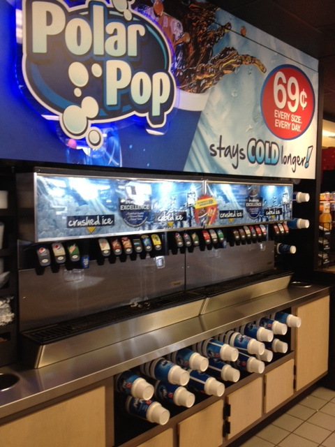 CIRCLE K: Sodas, Ice, Chips and Gas