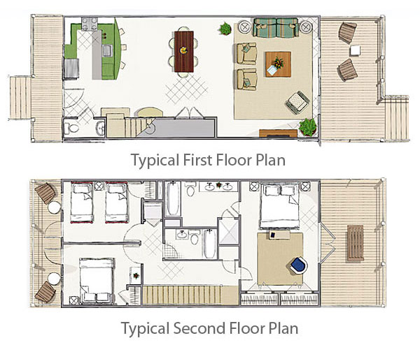 Floor Plan for  Turtle Cove at Indigo Reef